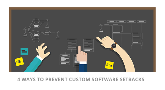 4 Ways to Prevent Custom Software Setbacks Blueberry Consultants