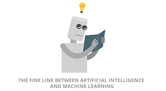 The Fine Line Between Artificial Intelligence and Machine Learning Blueberry Software Development